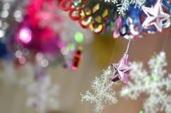 fractal Χριστουγέννων αστέρι νύχτας εικόνας Στοκ φωτογραφία με δικαίωμα ελεύθερης χρήσης