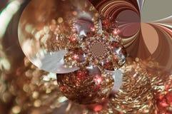 Fractal Χριστουγέννων Στοκ Φωτογραφίες