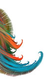 fractal χρώματος ανασκόπησης ελεύθερη απεικόνιση δικαιώματος