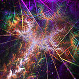 Fractal όνειρο Linier διανυσματική απεικόνιση