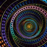 Fractal ύφους αγάπης Circural τέχνη Στοκ φωτογραφία με δικαίωμα ελεύθερης χρήσης