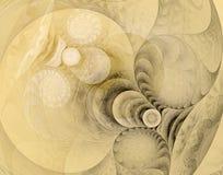 Fractal 01. Hi res image, fractal drawing royalty free illustration