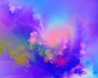 Fractal 10. A beautiful multicoloured fractal Vector Illustration