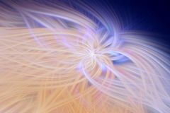 Fractal φλογών μπεζ προεξοχή υποβάθρου περίληψη διανυσματική απεικόνιση