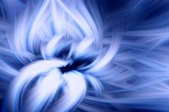 Fractal φλογών μπλε προεξοχή υποβάθρου ουρανός ελεύθερη απεικόνιση δικαιώματος
