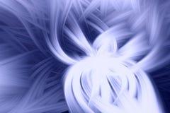 Fractal φλογών μπλε προεξοχή υποβάθρου r διανυσματική απεικόνιση