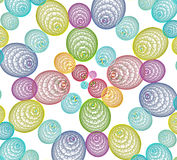 Fractal. 3d spheres and line abstract pattern for backgrounds Stock Photography