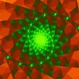 fractal royaltyfri illustrationer