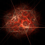 fractal vektor illustrationer
