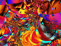 fractal Obrazy Stock