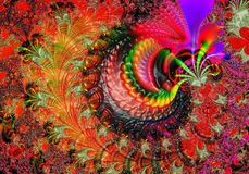 Fractal - 25 vektor illustrationer