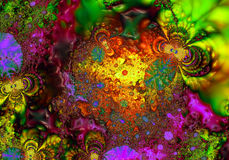 Fractal - 52 royaltyfri illustrationer