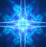 Fractal abstract. Symetry (coloured background Stock Photo