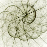 Fractal abstract. Twist (coloured background royalty free illustration