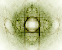 Fractal abstract. Dimension (colored background stock illustration