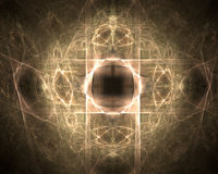 Fractal abstract. Dimension (background, wallpaper, texture royalty free illustration