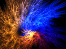 Fractal abstract. (background, texture, wallpaper stock illustration