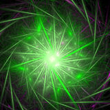 Fractal abstract. Star (background, texture, wallpaper royalty free illustration