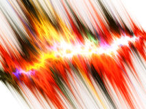 Fractal abstract. Electric discharge (background, texture, wallpaper Stock Photography