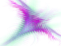 Fractal abstract. The bird spread its wings (background, texture, wallpaper Royalty Free Stock Photography