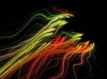 Fractal abstract. Sperm (background, wallpaper, texture stock illustration