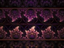 Fractal abstract unique design colorful pattern dream modern creative background idea decoration magic stock image