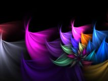 Fractal Abstract Background Royalty Free Stock Photos