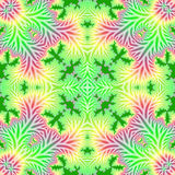 Fractal abstract background. Seamless repeat pattern Royalty Free Stock Image