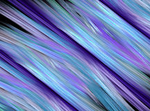 Fractal abstract background, chaotic lines and fiber on black. Fractal abstract background, chaotic lines and fiber cold tones stock illustration
