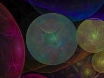 Fractal abstract background heaven, shine inspiration ball pattern creative, pattern, artwork. Fractal abstract background heaven creative pattern artwork royalty free illustration