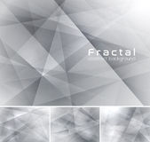 Fractal abstract background. Low poly vector background series, suitable for design element and web background Royalty Free Stock Image