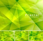 Fractal abstract background. Low poly vector background series, suitable for design element and web background Royalty Free Illustration