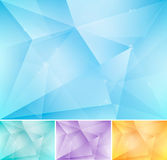 Fractal abstract background. Series, file format EPS 10 Royalty Free Stock Photos