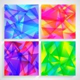 Fractal Abstract Background set of fractal Stock Image