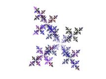 Fractal - abstract background Royalty Free Stock Image