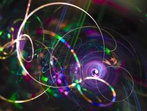 Free Fractal Abstract, Digital Swirl , Psychedelic Artistic Power Idea Card Fire Rendering Creative, Mystery Beautiful Design Magic Stock Images - 126970064