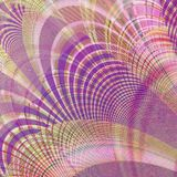 Fractal abstract, floral decoration background violet. Fractal abstract floral background decoration Stock Photo