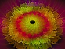 Fractal abstract futuristic, flower design, graphic magic digital render design decorative. Fractal abstract design render decorative design digital dynamic stock image