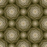 Fractal abstract spiral shape background Royalty Free Stock Photo