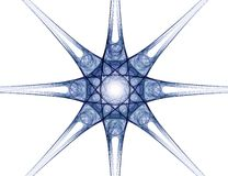 Fractal abstract - star Stock Photo