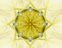 Fractal abstract - star (background) Royalty Free Stock Images