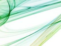 Fractal abstracte achtergrond Stock Afbeelding