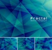 Fractal abstracte achtergrond royalty-vrije illustratie