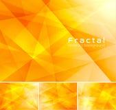 Fractal abstracte achtergrond vector illustratie