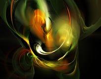 Fractal abstracto stock de ilustración