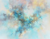 Fractal abstracto Fotografía de archivo