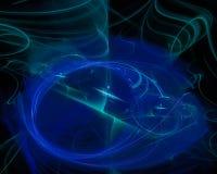 Fractal abstracto del misterio de la plantilla de la tendencia de Digitaces, fantasía futurista del diseño del papel pintado herm fotos de archivo libres de regalías