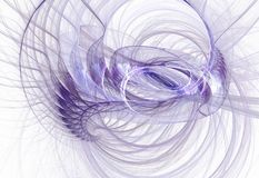 Fractal abstracto geométrico Fotografía de archivo