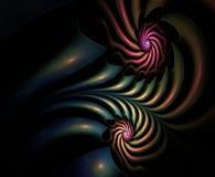 Fractal abstracto plasmático Foto de archivo libre de regalías