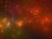 Fractal abstrakcjonistyczny kolorowy spływowy błyszczący techniczny piękno odpłaca się cyfrowy, dyskoteka, biznes, reklama, fotografia stock